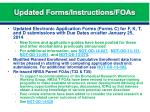 updated forms instructions foas