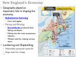 new england s economy