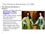 the glorious revolution of 16881
