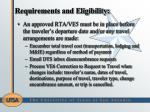 requirements and eligibility1