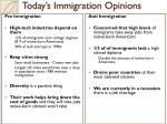today s immigration opinions