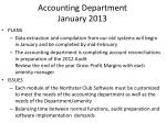 accounting department january 20131