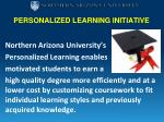 personalized learning initiative