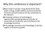 why this conference is important