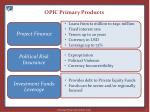opic primary products