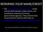 repairing your name credit