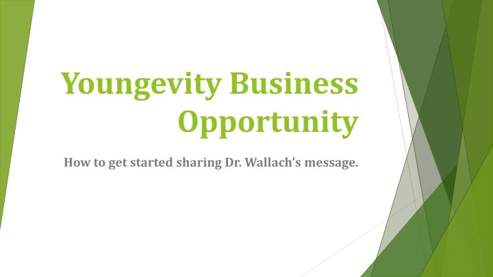 youngevity business opportunity n.