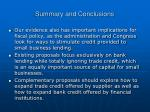 summary and conclusions2