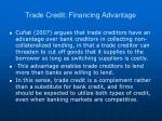 trade credit financing advantage1