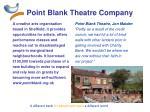 point blank theatre company