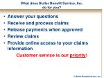what does butler benefit service inc do for you
