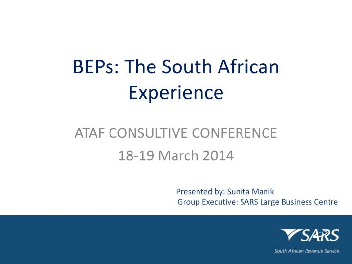 beps the south african experience n.