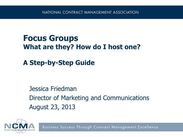 focus groups what are they how do i host one a step by step guide n.