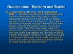quotes about bankers and banks2