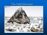 the debt mountain