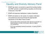 equality and diversity advisory panel