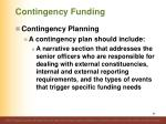 contingency funding1