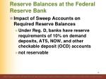 reserve balances at the federal reserve bank3