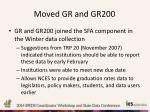 moved gr and gr200