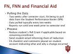 fn fnn and financial aid