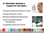 a attraction become a magnet for top talent