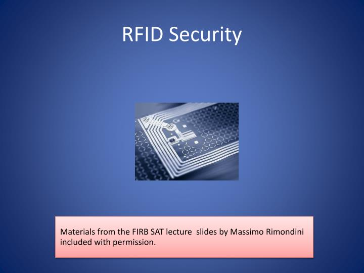 rfid security n.