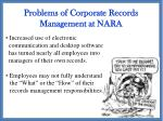 problems of corporate records management at nara1