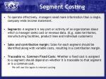 segment costing