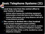 basic telephone systems ii
