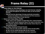 frame relay ii