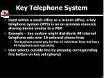 key telephone system