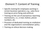 element 7 content of training1
