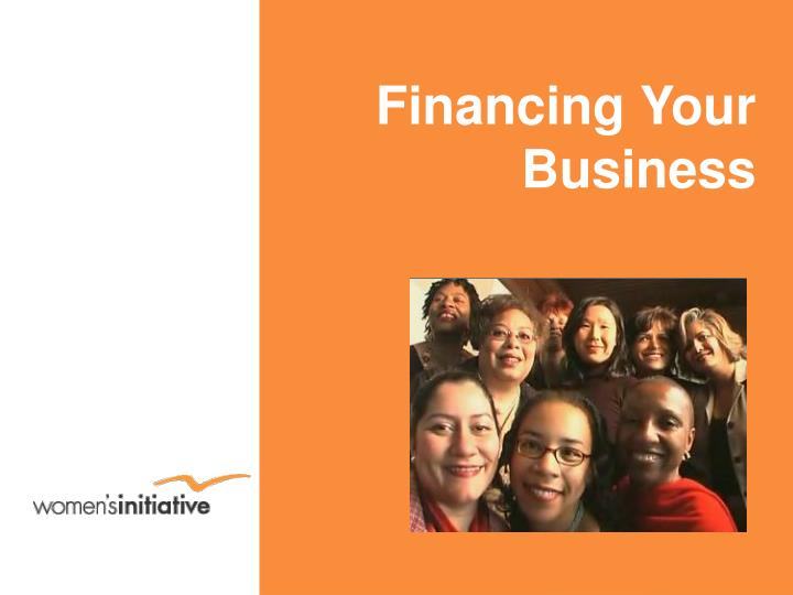 financing your business n.