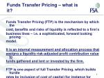 funds transfer pricing what is it