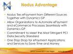 nodus advantage