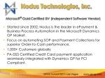 nodus technologies inc1