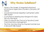 why nodus solutions