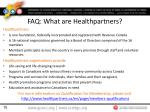 faq what are healthpartners