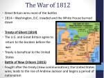 the war of 18121