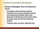 active investment strategies13