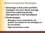 active investment strategies3