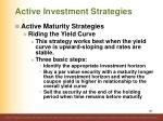 active investment strategies8