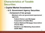characteristics of taxable securities19