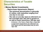 characteristics of taxable securities2