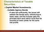 characteristics of taxable securities23