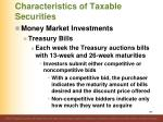 characteristics of taxable securities4