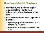 risk based capital standards