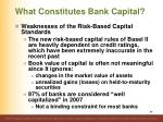 what constitutes bank capital12