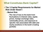 what constitutes bank capital7