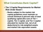 what constitutes bank capital8
